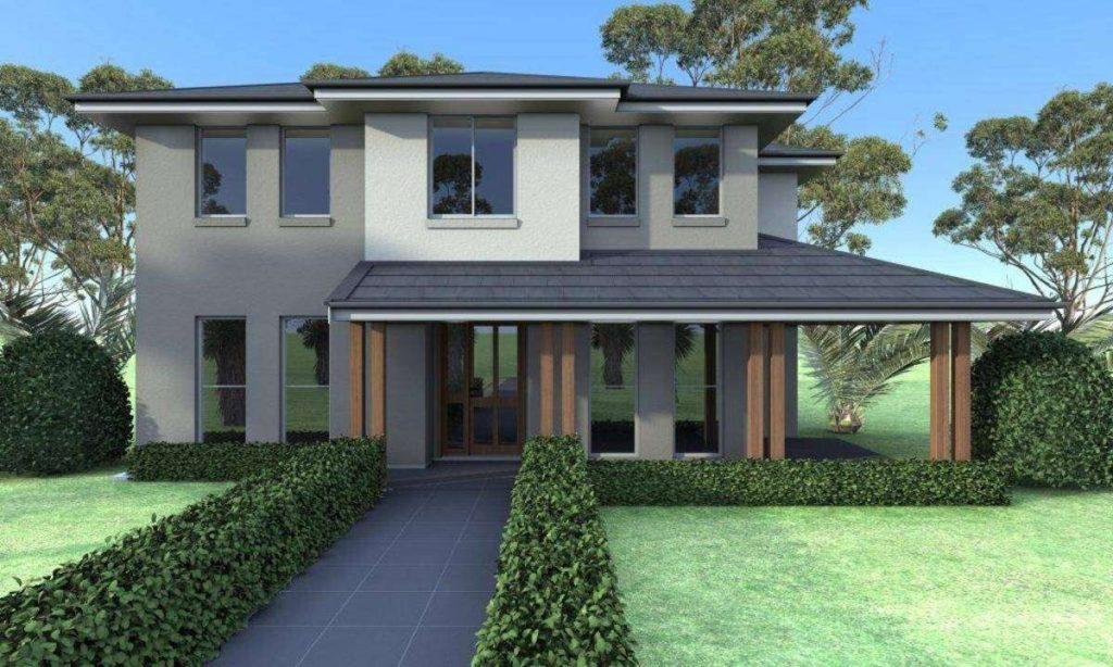 3d render of lawn