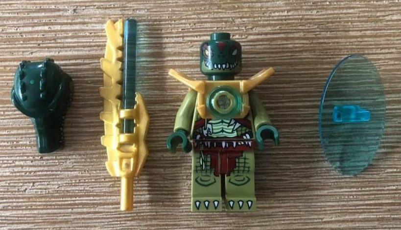 CRAGGER LEGO Chima Minifigure without helmet