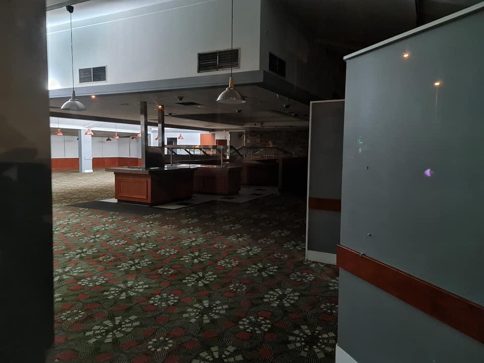 Campbelltown sizzler empty buffet