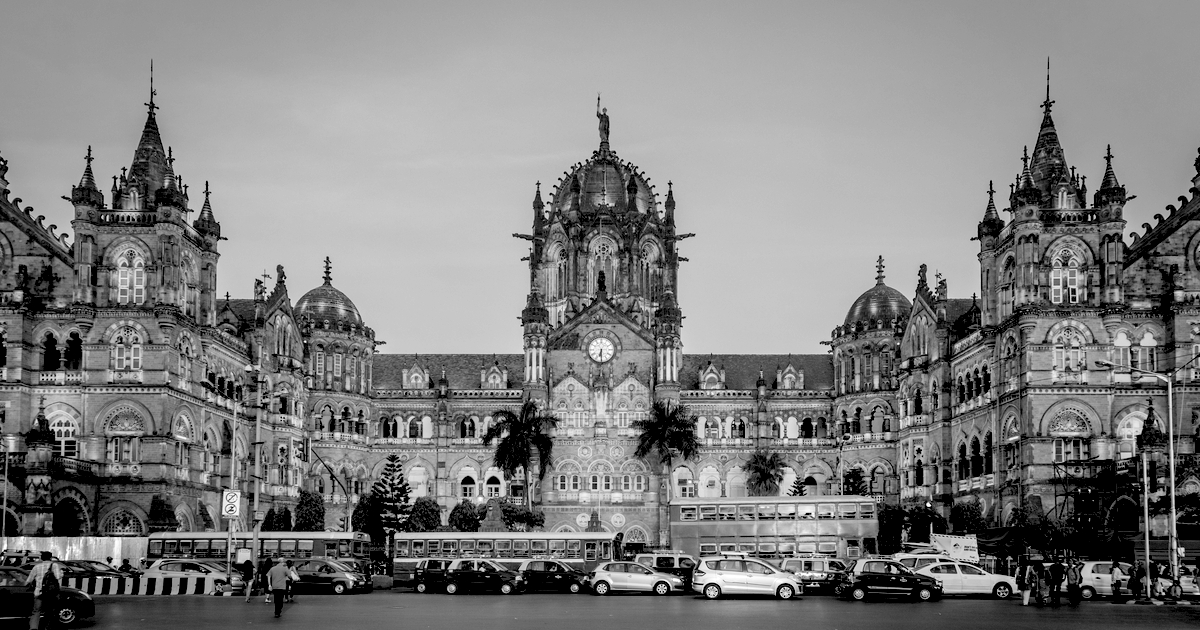 Chhatrapati Shivaji Terminus Mumbai India