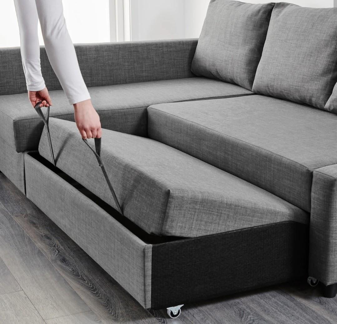 Friheten Sofa IKEA bed pull out