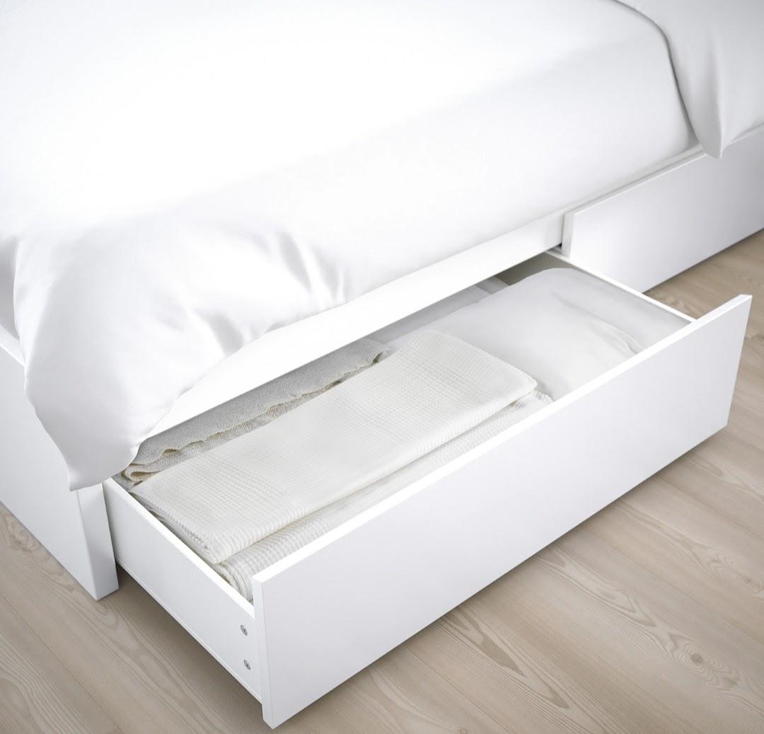 IKEA Malm Bed White Australia
