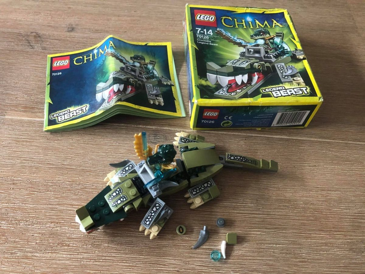 LEGO Chima Crocodile Legend Beast 70126 built