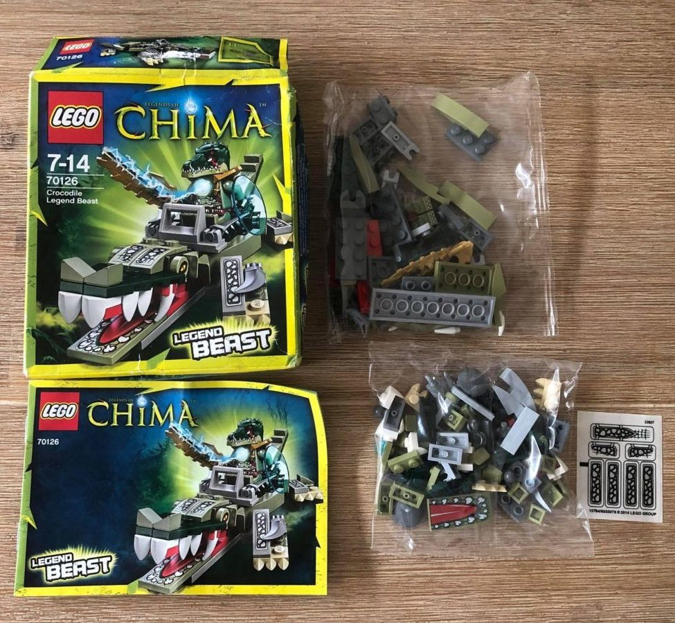 LEGO Chima Crocodile Legend Beast 70126 open