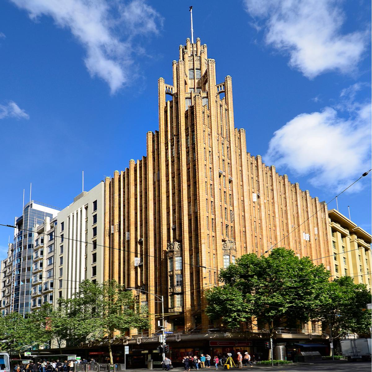 Manchester Unity Building art deco Melbourne Australia