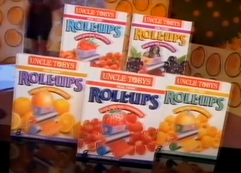 Uncle Tobys Fruit Rollups