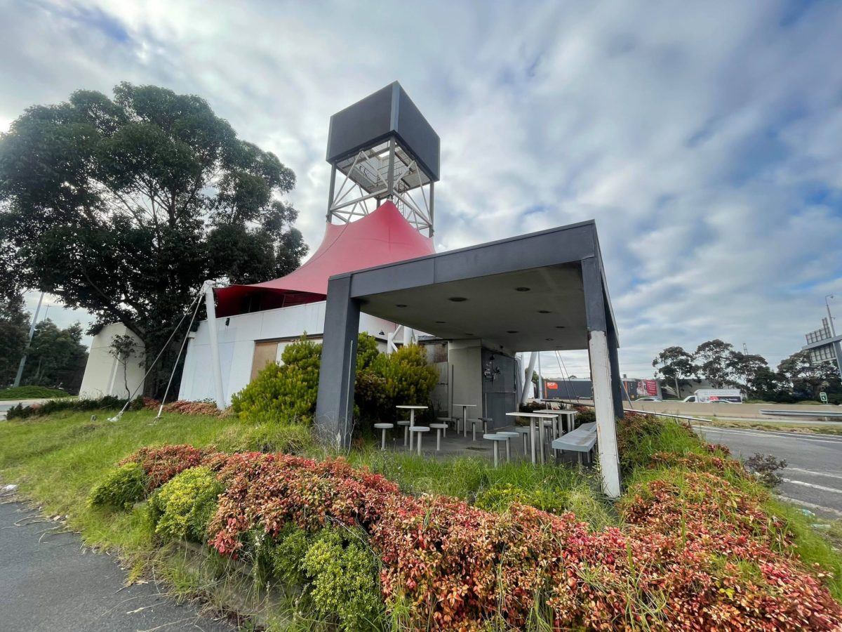 abandoned drive thru only kfc melbourne seating