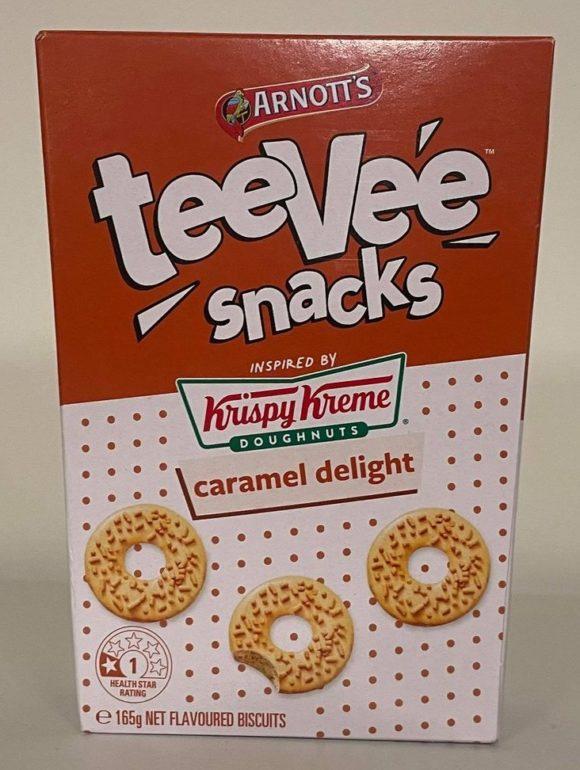 krispy kreme teevee snacks kookies kreme cookies cream