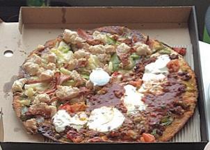 chicken licken 3 amigos pizza