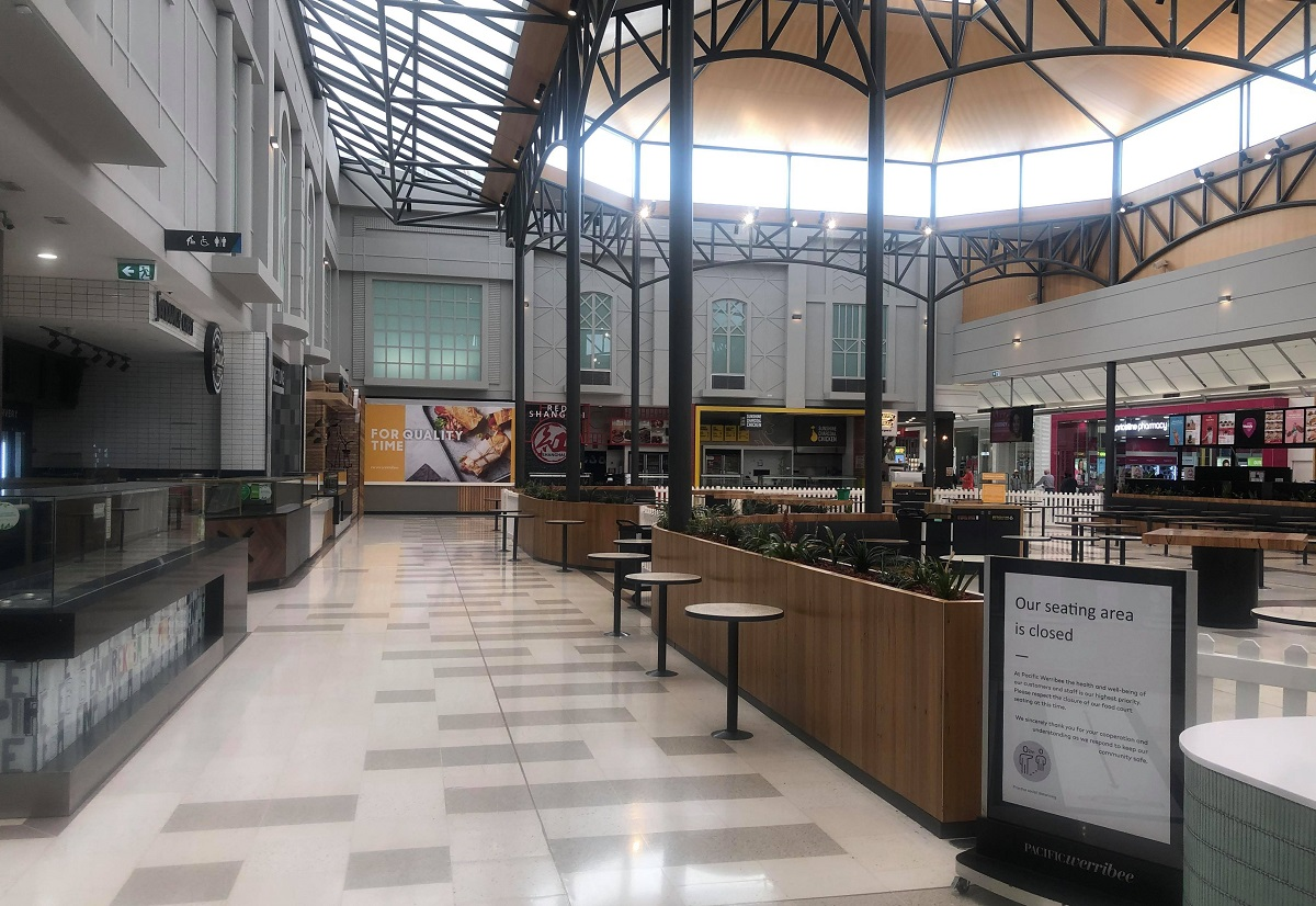 food court closed at pacific werribee corona virus