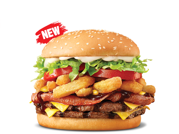 hungry jacks double whiskey river whopper
