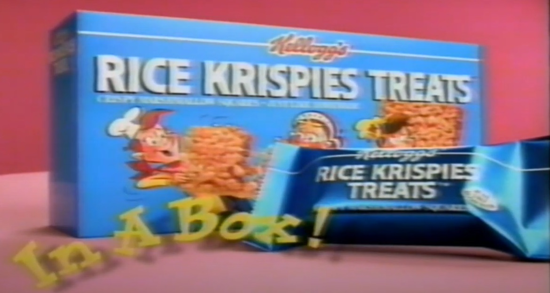 kelloggs rice krispies treats in a box 90s snack