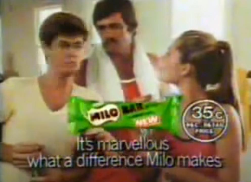 milo bar tv commercial 90s australia