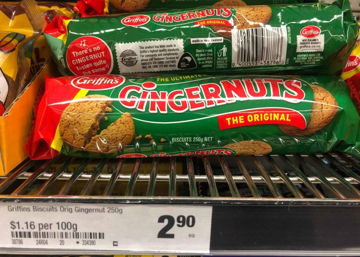 griffins biscuits gingernuts