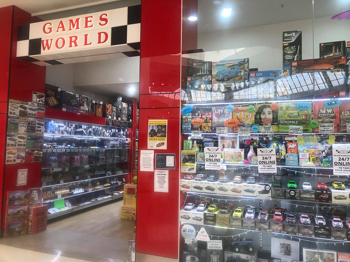 outside of games world pacific werribee