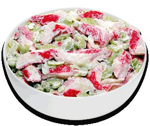 sizzler menu seafood salad