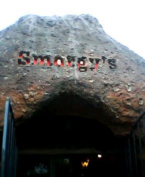 smorgys entrance sign