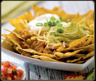 tacos nachos