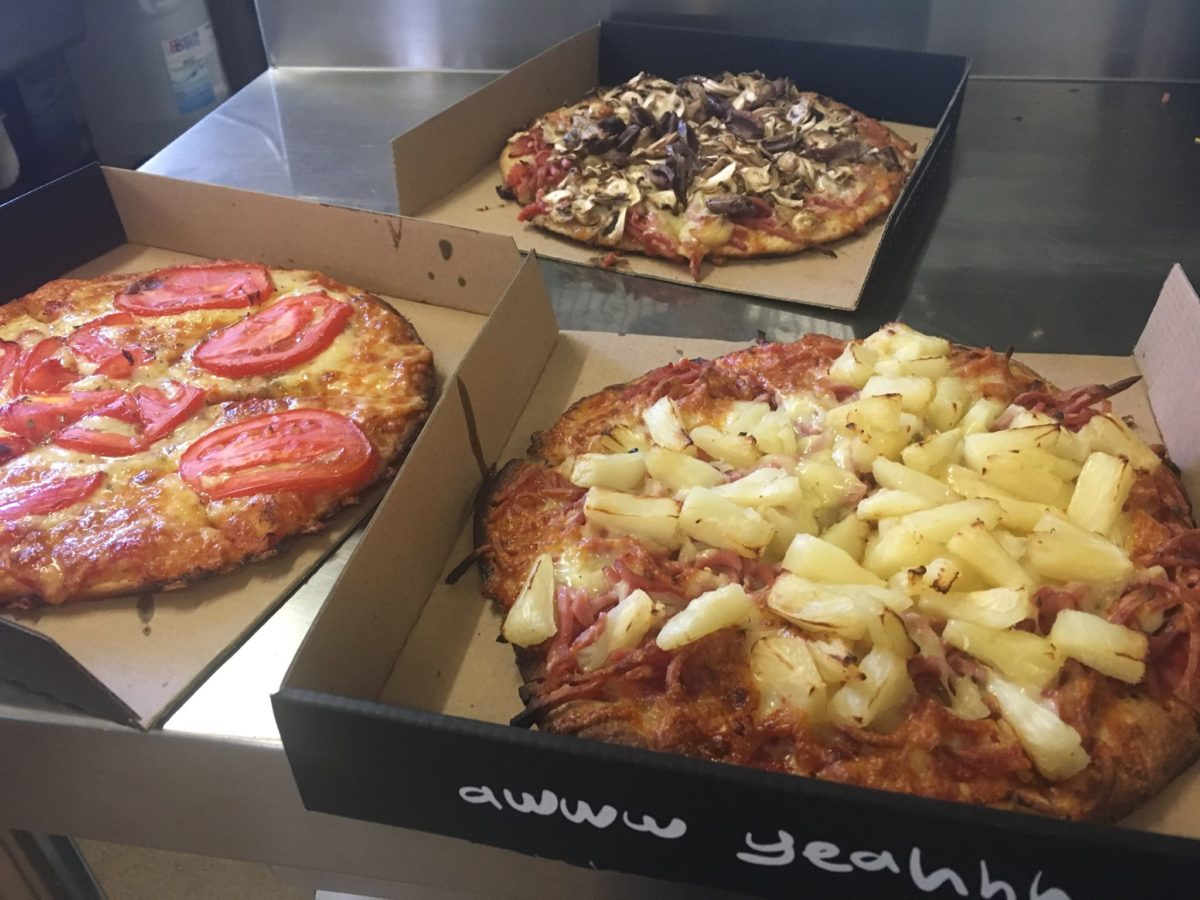 the mad moose classic pizzas
